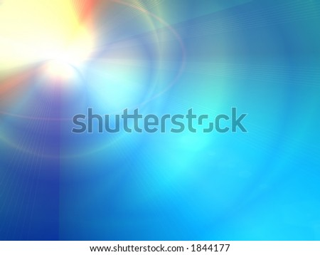 bright light abstract - stock photo
