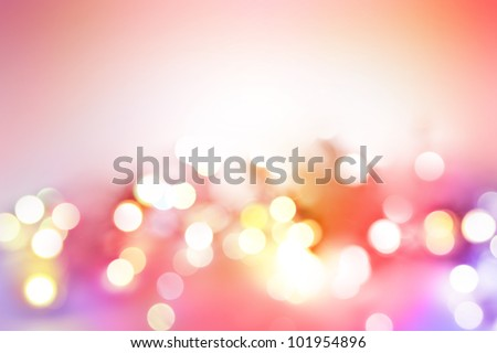 Bright lights abstract background. Copy space - stock photo