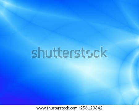 Bright luxury elegant blue wallpaper background - stock photo