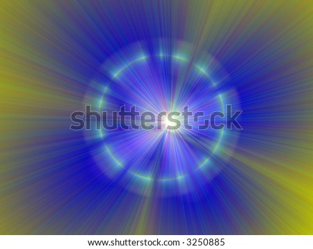 bright neon abstract page design illustration background starburst