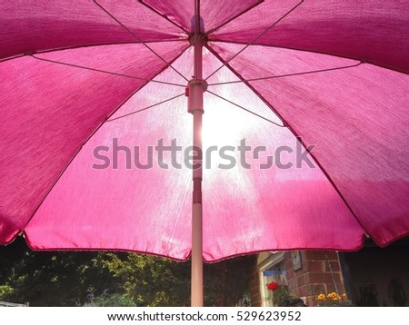 Nice Garden Parasol Stock Images Royaltyfree Images  Vectors  With Lovable Bright Pink Garden Parasol Sunshade Provides Welcome Relief From The  Afternoon Sun With Attractive Oxford Garden City Also Iron Garden Gate In Addition Pulteney Gardens Bath And China Garden Hackbridge As Well As Oxfordshire Garden Furniture Additionally Solar Powered Garden Wall Lights From Shutterstockcom With   Lovable Garden Parasol Stock Images Royaltyfree Images  Vectors  With Attractive Bright Pink Garden Parasol Sunshade Provides Welcome Relief From The  Afternoon Sun And Nice Oxford Garden City Also Iron Garden Gate In Addition Pulteney Gardens Bath From Shutterstockcom