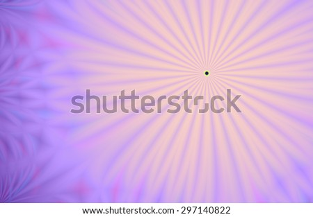 Bright pink / purple abstract shining pattern (with small black hole) - stock photo