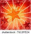 Bright poster for decoration - stock photo