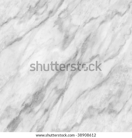 Bright smooth white marble texture background - stock photo