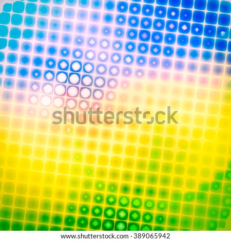 Bright summer texture unusual geometric pattern.  The mood of spring, summer , blooming, harmony and joy. - stock photo