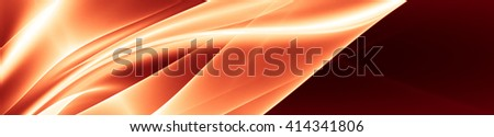 "Bright, sunny background in orange tones. For the design with a positive mood autumn. The texture is blurred, is a kind of ""haze"" - stock photo"