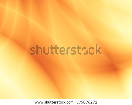 Bright sunny wave yellow energy abstract background - stock photo