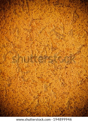 bright warm yellow wall background  - stock photo