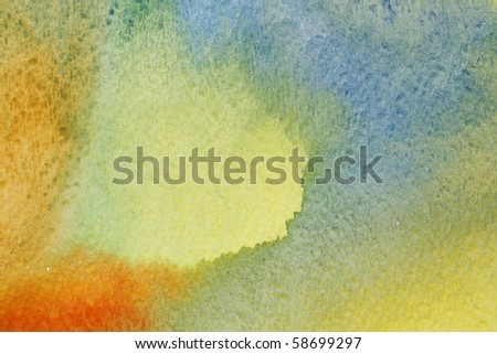 bright watercolor colored background
