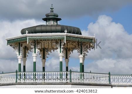 Brighton Bandstand - stock photo