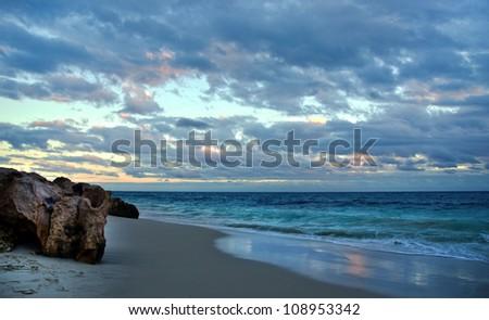 Brighton Beach _ Perth Western Australia - stock photo