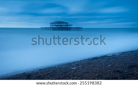 Brighton, UK  - stock photo