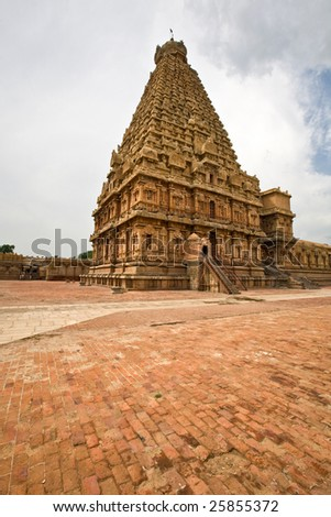 Brihadeeswara Temple - stock photo