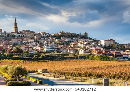 Briones village, La Rioja, Spain