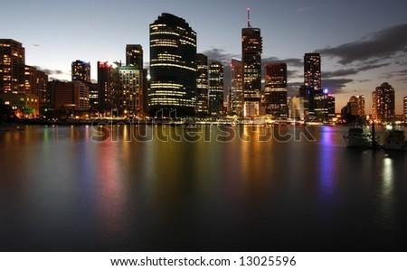 Brisbane    Australia - stock photo