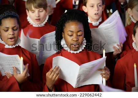 Carol Singers Stock Images, Royalty-Free Images & Vectors ...
