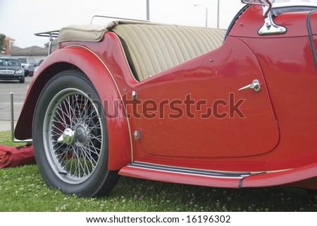 British Automobile - stock photo