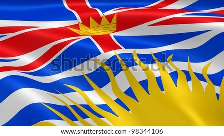 how to draw the british columbia flag
