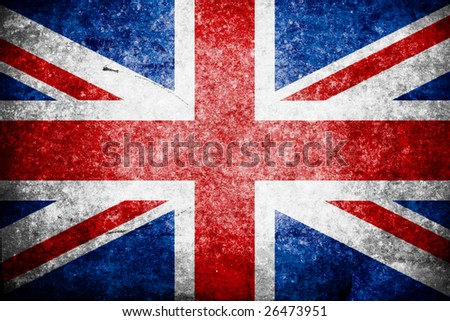 british flag - stock photo