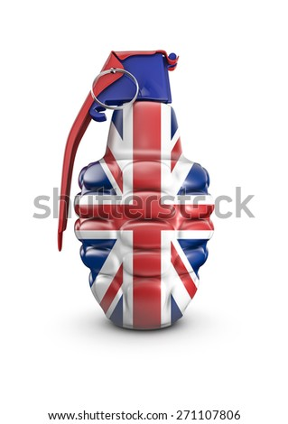 British grenade - stock photo