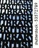 British library - stock photo