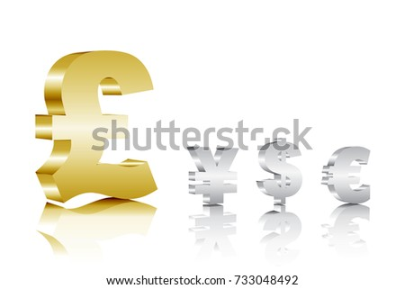 British Pound and other currencies. Foreign exchange