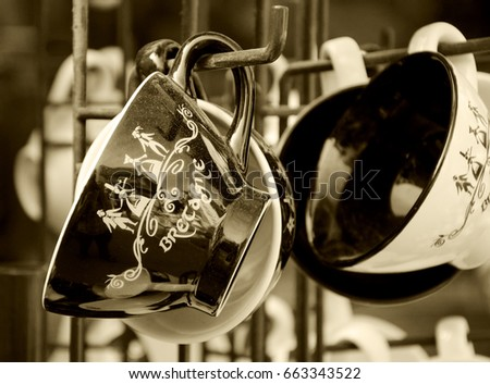 Brittany France July 16 2014 Souvenir Stock Photo Royalty Free