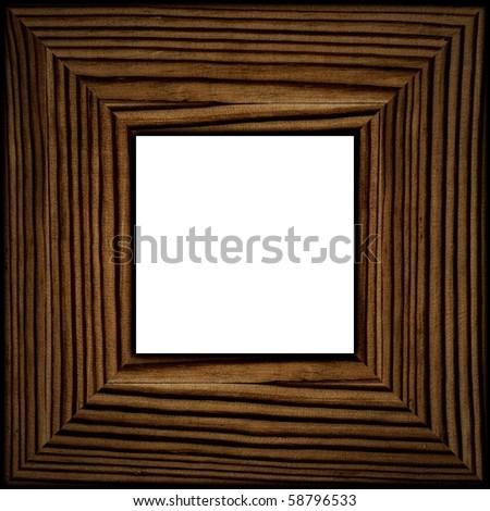 Broad Photo Frame - stock photo