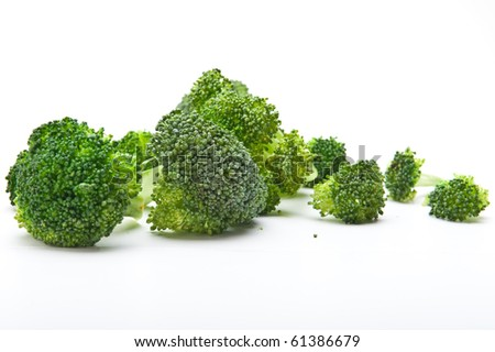 Broccoli, raw. - stock photo