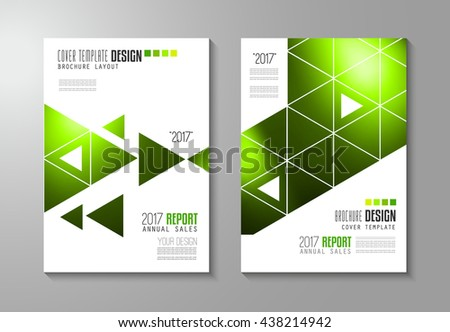 Brochure Template Flyer Design Depliant Cover Stock Vector 435701281