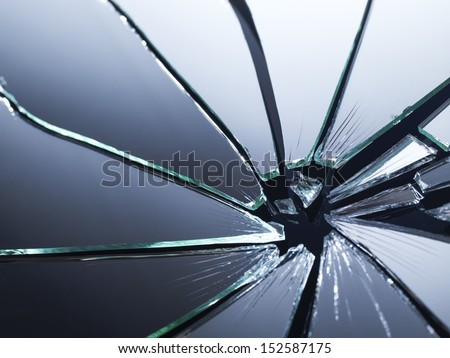 Broken mirror shattered many pieces stock photo 152587175 for What to do with broken mirror pieces