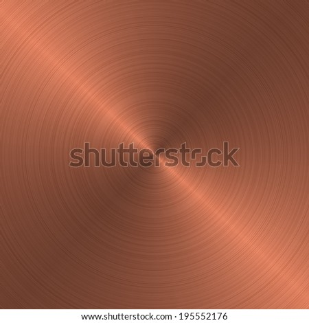 bronze metal - stock photo