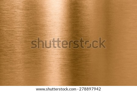 Bronze or copper metal texture background - stock photo