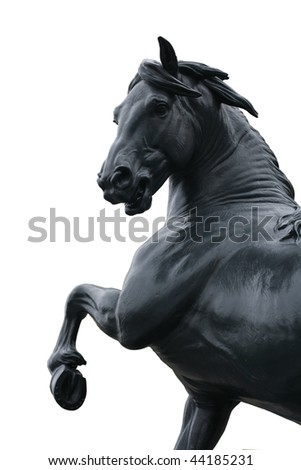 Bronze Sculpture of a Horse - stock photo