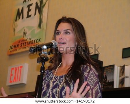 Brooke Shields - stock photo