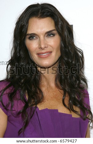 Brooke Shields - stock photo