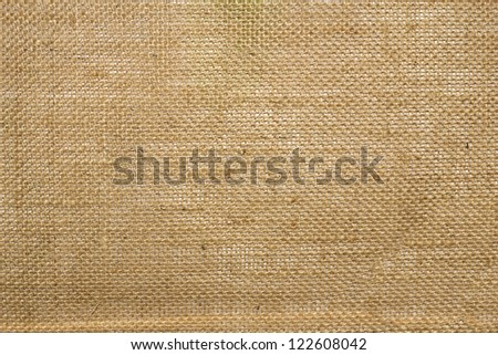 brow fabric texture closeup to be used as background - stock photo