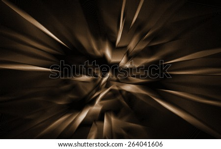 Brown Abstract - stock photo