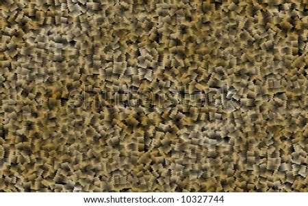 Brown abstract background resembling lots of wood chips - stock photo