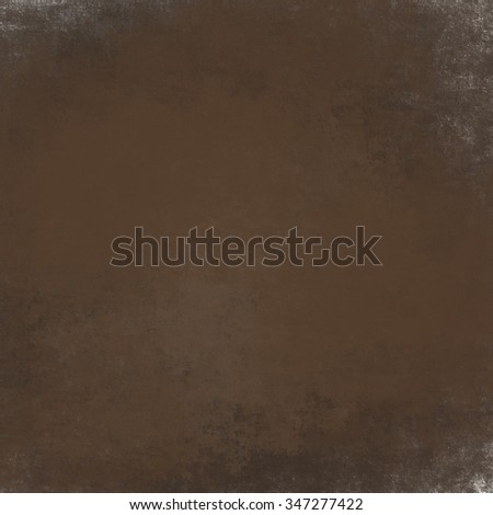 brown background with black vignette border and vintage grunge background texture design layout, autumn thanksgiving background colors, halloween backdrop for brochure or sign - stock photo