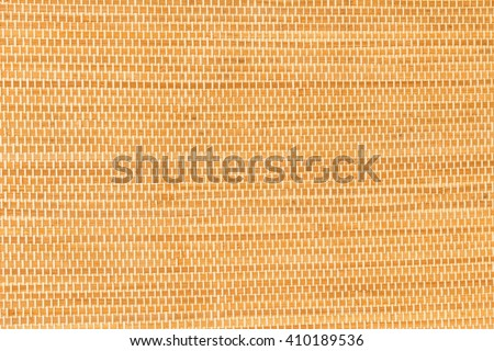 Brown bamboo texture wall paper, taken close up indoor - stock photo