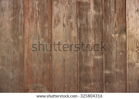 Brown Barn Wooden Boards Panel For Modern Vintage Home Design Textured Background - stock photo