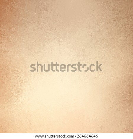 brown beige background, light orange or tan color design, vintage grunge texture - stock photo