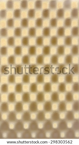 Brown beige cream abstract pattern foam chess texture background pattern - stock photo
