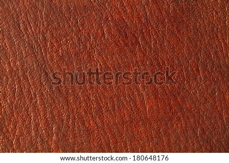 Brown black leather texture background - stock photo