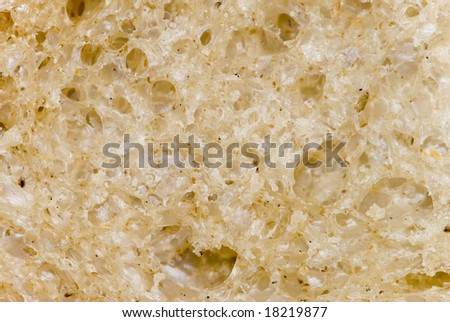 Brown bread background texture - stock photo