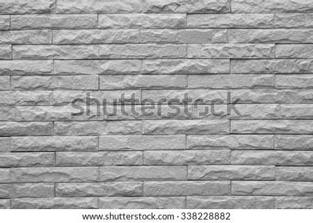 Brown bricks wall pattern.