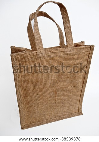 brown burlap sack