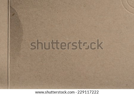 brown cardboard texture or background  - stock photo
