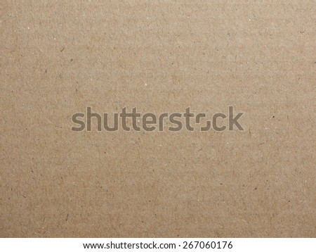 Brown cardboard texture useful as a background - stock photo